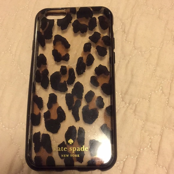 meet e243e 0a75f Kate Spade - Cheetah Print iPhone 6 Case